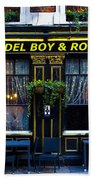 The Del Boy And Rodney Pub Beach Towel