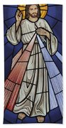 The Divine Mercy Beach Towel