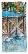 The Dock Beach Towel