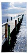 The Dock Of The Bay Beach Towel