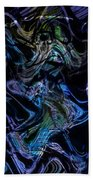 The Dragon Behind The Mask  Beach Towel