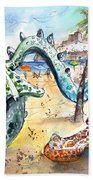 The Dragon From Penicosla Beach Towel