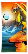 The Dragon Lands Beach Towel