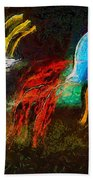 The Dragons Of Desire Beach Towel