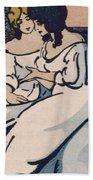 The Duchesse De Langeais Visiting The Vicomtesse De Beauseant Beach Towel by Quint