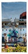 The Duke Of Graffiti Beach Towel
