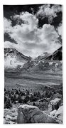 The Eastern Sierra Beach Towel