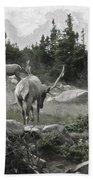 The Elk Painterly 2 Beach Towel
