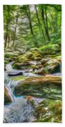 The Emerald Forest 4 Beach Towel