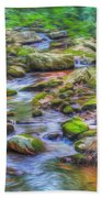 The Emerald Forest 6 Beach Towel