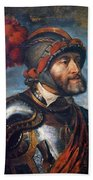 The Emperor Charles V Beach Towel