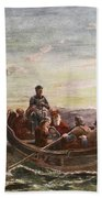 The Escape Of Mary Queen Of Scots Beach Towel