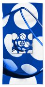 The Eternal Glass Blue Beach Towel