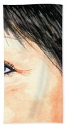 The Eyes Have It - Tami Beach Towel