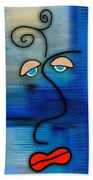 The Face Beach Towel