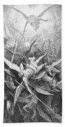 The Fall Of The Rebel Angels Beach Towel
