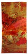 The Fire Within Beach Towel by Jacky Gerritsen