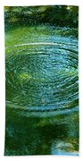 The Fish Pond Beach Towel