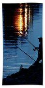 The Fisherman Beach Towel