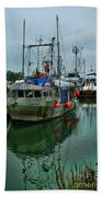 The Fishing Boat Genesta Hdrbt4240-13 Beach Towel