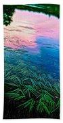 The Flow - Paint Beach Towel