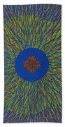 The Flower 3 Beach Towel