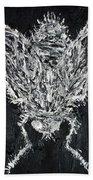 The Fly - Oil Portrait Beach Towel