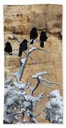The Four Crows Beach Towel