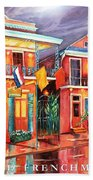 The Frenchmen Hotel New Orleans Beach Towel
