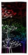The Garden Of Your Mind Rainbow 3 Beach Towel