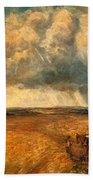 The Gathering Storm, 1819 Beach Towel by John Constable