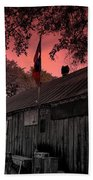 The General Store In Luckenbach Texas Beach Towel by Susanne Van Hulst