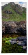 The Giant's Causeway - Peak And Pool Beach Towel