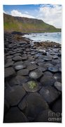 The Giant's Causeway - Staircase Beach Towel