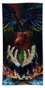 The Gift Beach Towel by Kd Neeley
