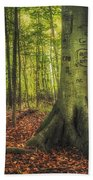 The Giving Tree Beach Towel