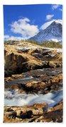 The Glacier Rush Beach Towel