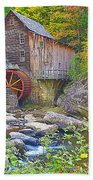 The Glade Grist Mill Beach Towel