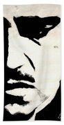 The Godfather Beach Towel