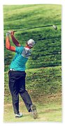 The Golf Swing Beach Towel