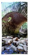 The Gorge Trail Stone Bridge Beach Towel