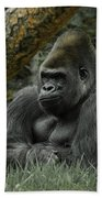 The Gorilla 3 Beach Towel