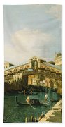 The Grand Canal   Venice Beach Towel