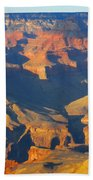 The Grand Canyon From Outer Space Beach Towel