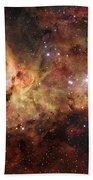 The Great Nebula In Carina Beach Towel