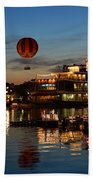 The Great And Powerful Oz Over Downtown Disney Beach Towel