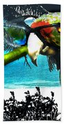 The Great Bird Of Casablanca Beach Towel