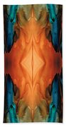 The Great Spirit - Abstract Art By Sharon Cummings Beach Towel