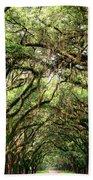 The Green Mile Savannah Ga Beach Towel