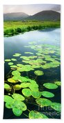 The Green Of Our Land Beach Towel